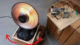 High-tech automatic infrared heater aimer