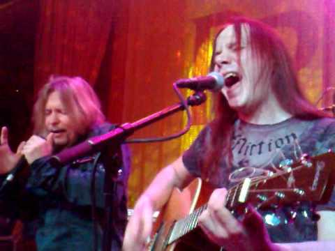 Timo Kotipelto&Jani Liimatainen acoustic - Burn