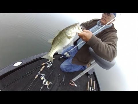 Bass Fishing Toledo Bend Feb 7 2013