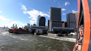 ⁴ᴷ⁶⁰ Walking NYC : Financial District to Staten Island Empire Outlets via Staten Island Ferry