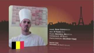 Watch Ryan Stevenson preparing for World Chocolate Masters Final 2011