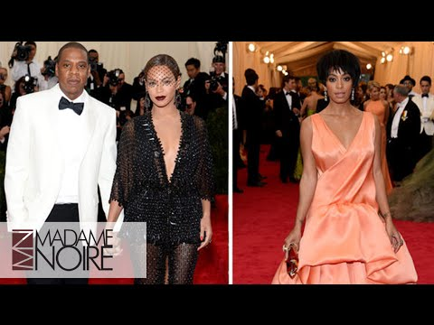 Solange Knowles Fights Jay Z & Beyoncé Stands There