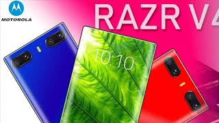 Motorola RAZR V4 has a new concept, smartphone review, device news