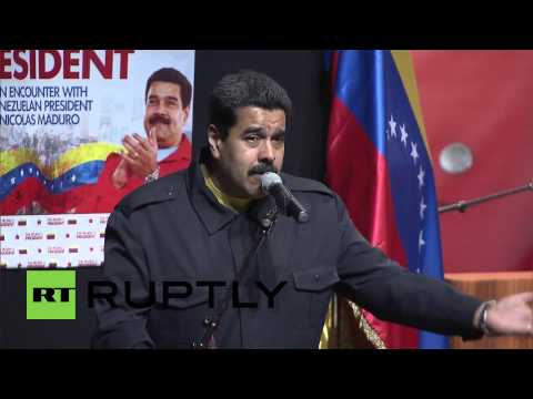 USA: Venezuela's Maduro visits the Bronx, meets local community leaders