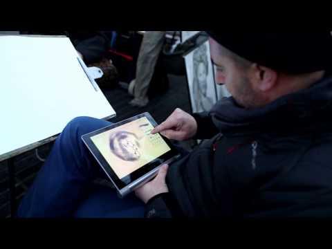 Barcelona Street Art Challenge: Digital Caricature