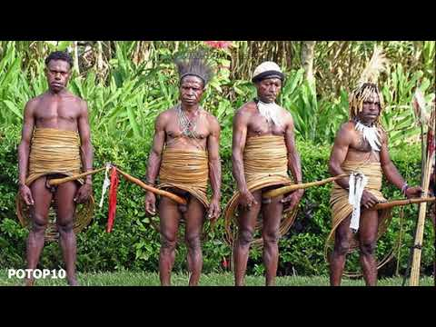 10 Dziwne Plemiona