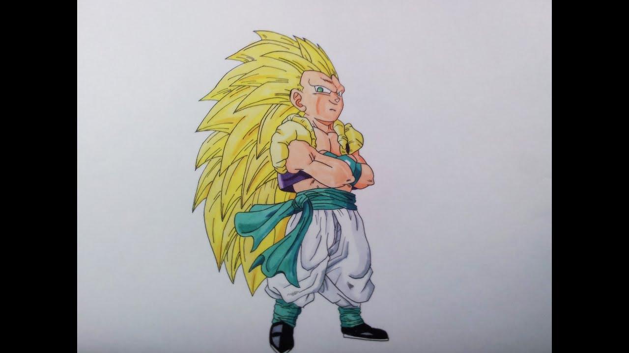 Drawing gotenks ssj3 youtube - Comment dessiner trunks ...