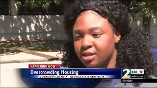 Some GSU students may 'triple-up' in dorms because of overbooking issue
