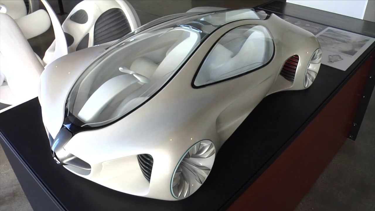 Mercedes Benz Biome Concept Car At The Autodesk Gallery