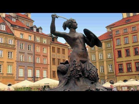 Warszawa Stare Miasto (Warsaw Old Town), Poland [HD] (videoturysta)