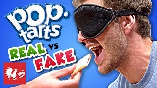 BLIND POP TART TASTE TEST | RT Life