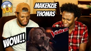 Makenzie Thomas Impresses With Jessie J 39 S 34 Big White Room 34 The Voice 2018 Blind Auditions