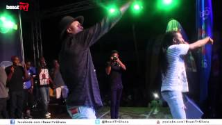 Pappy Kojo and Joey B perform at Mensah Sarbah Hall Artiste Night( Beast Tv)
