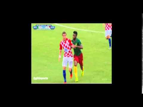 Song vs Mandžukić - CROATIA : CAMEROON 4:0 19.6.2014.