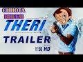 Theri Official Trailer | CHHOTA BHEEM VERSION - TRAILER MASHUP