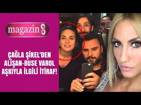 Çağla Şıkel'den Alişan - Buse Varol aşkıyla ilgili itiraf!