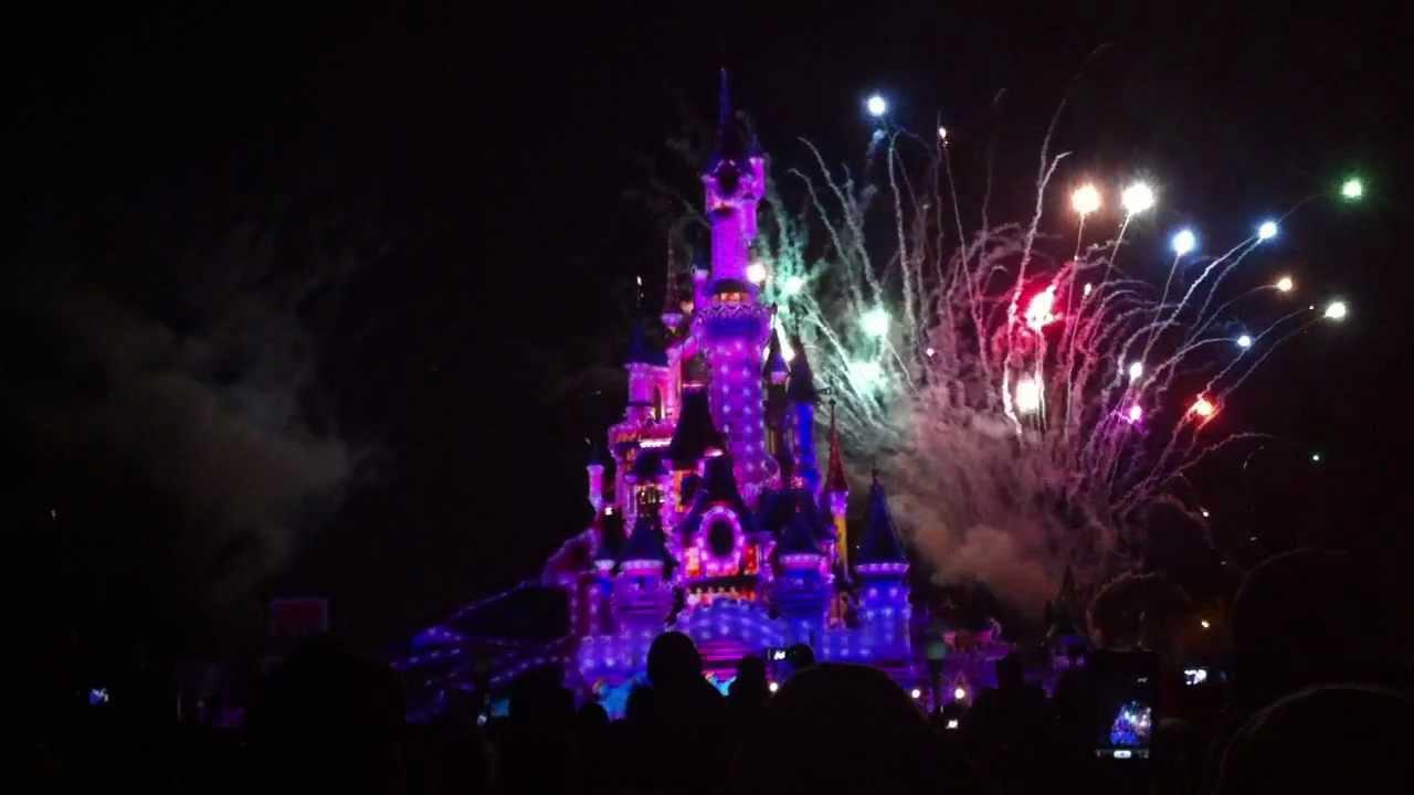 Disneyland Paris at Night Disneyland Paris Night Time
