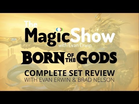 Born of the Gods Complete Set Review - White