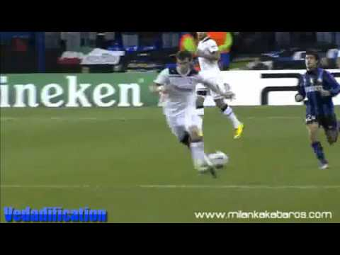 Gareth Bales fastest sprint vs. Inter Mailand fastest player in football against Maicon CL HD