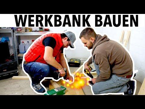 (2/2) Ohne viel Werkzeug eine Werkbank bauen. MrHandwerk