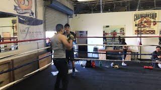 Boxing Champion leo Santa Cruz power