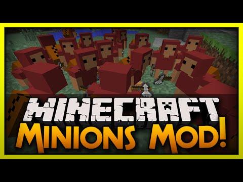 Minecraft Mod Spotlight: Minion Slaves! (Minions Mod)