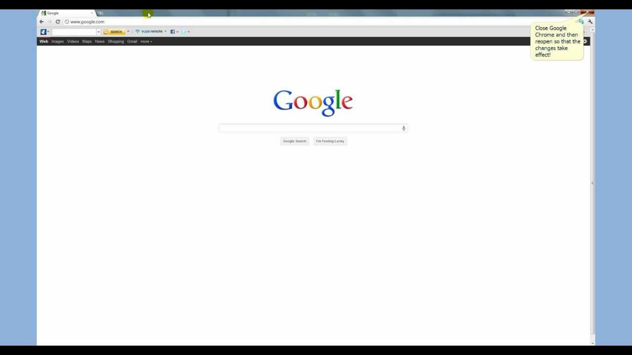 How to uninstall Vuze Toolbar from Google Chrome - YouTube