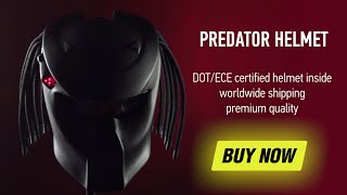 New 2016 Predator Original helmet commercial