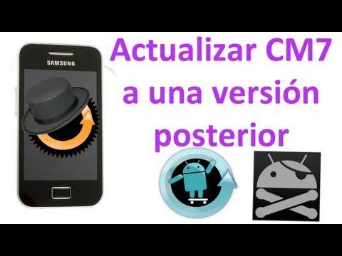 Actualizar Cyanogenmod 7.2 Galaxy Ace