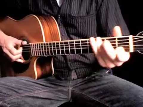 Learn Fingerstyle Guitar : Freight Train Tutorial 2 + Tab