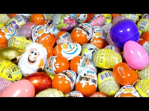 Play Doh Surprise Eggs Kinder unboxing easter eggs by Unboxingsurpriseegg