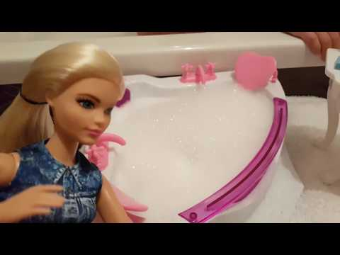 Кукла #Барби Алиса в ДЖАКУЗИ 🛀 Новая ВАННАЯ Барби ♥️ Играем в куклы Barbie Видео для Детей