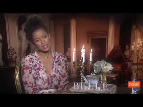 Belle Interview With Tom Wilkinson, Miranda Richardson, Gugu Mbatha-Raw and More [HD]