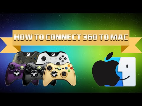 How To: Connect Your Xbox 360 + One Controller To Mac With Example! (Yosemite-El Capitan) 2016!