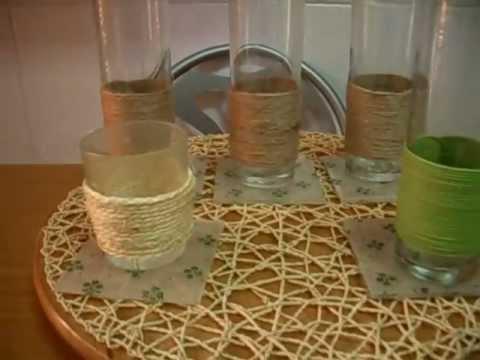 Como hacer vasos de botellas