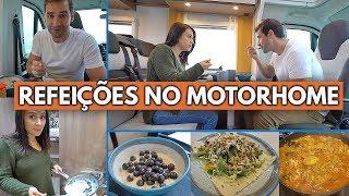 O QUE EU COMO EM 1 DIA VIVENDO EM UM MOTORHOME | Travel and Share