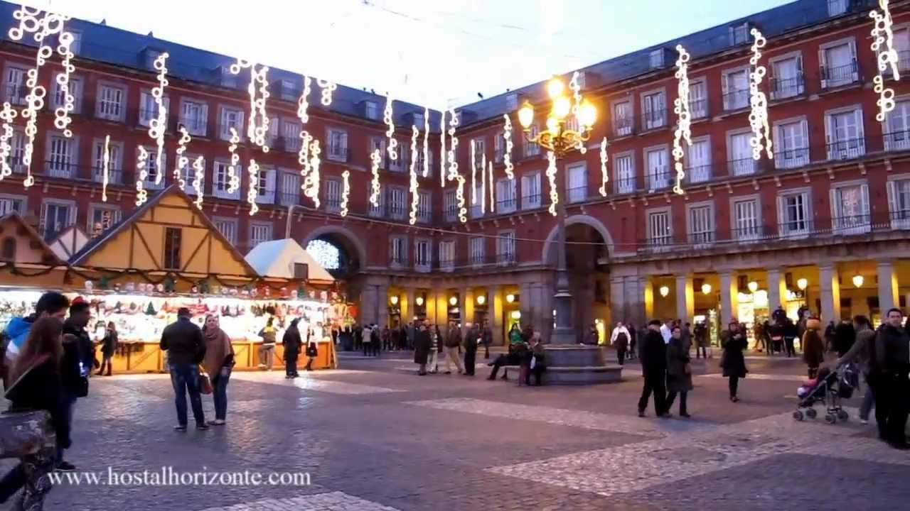 Navidad en la puerta del sol plaza mayor y cortylandia - Mercado de navidad en madrid ...