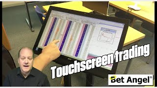 Betfair trading - Trading with Touchscreen PC