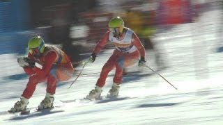 How to: para-alpine skiing visually impaired category