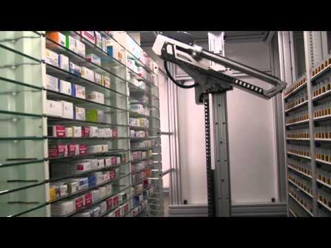 Pharmax – RG2 Ultra – Système robot + automate pour pharmacie