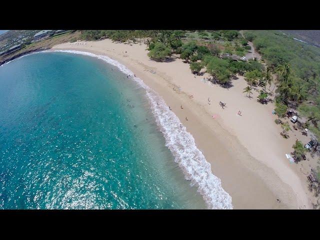 Beauty of Lana'i Hawaii - Hulopoe Beach - July 2014