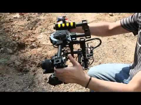 3-Axis 5d/DSLR Handle Carbon Brushless Gimbal
