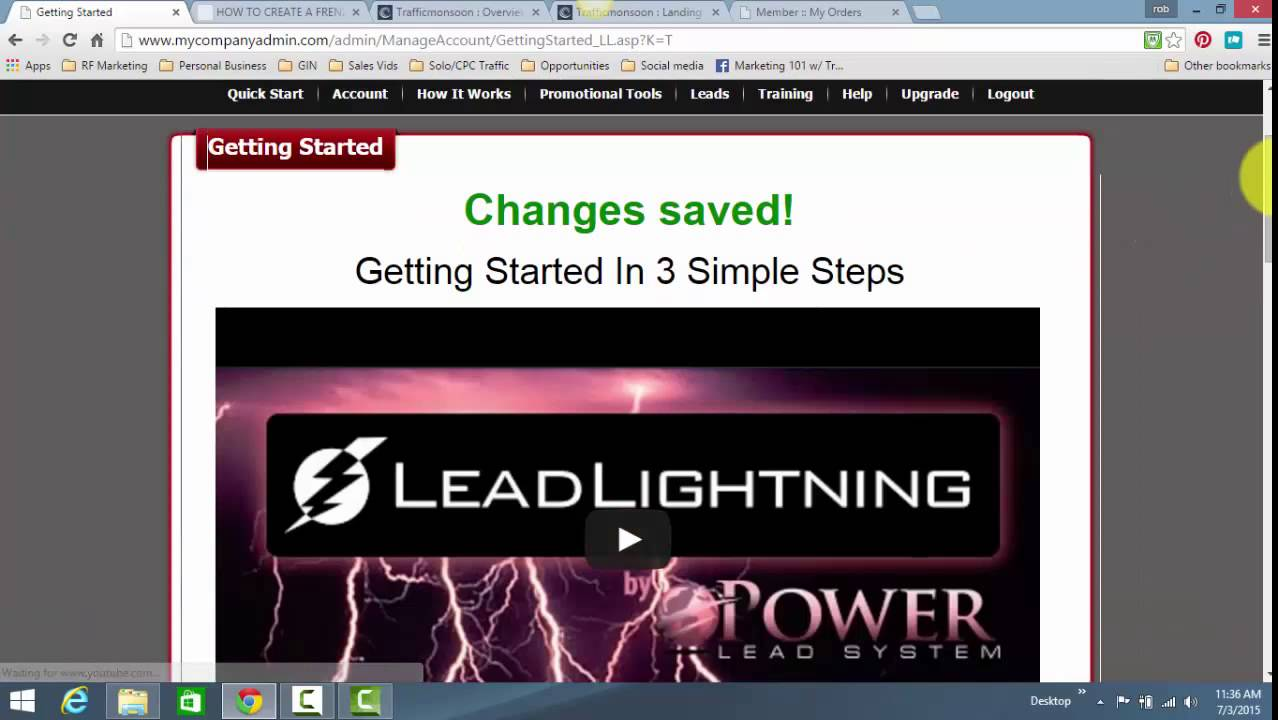 Lead Lightning Banner How to Use Lead Lightning to