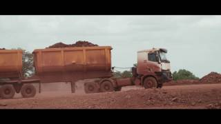 Customer interview: Robustness produced by Renault Trucks K in Guinea