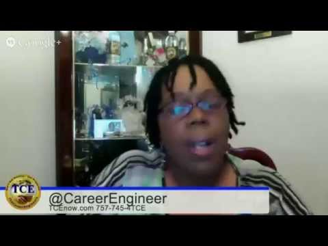 "TCE Career & Biz Broadcast (LIVE on YouTube) ""Don't Get Anxious - Get Prepared!"