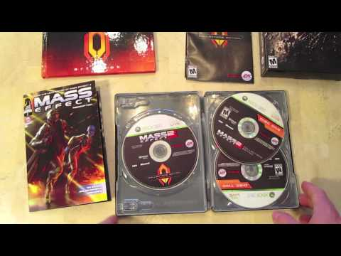 Mass Effect 2 Collector's Edition Unboxing