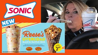 Sonic New Reese's Overload Blast Review