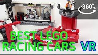 Hoạt hình thực tế ảo cho bé: LEGO - Lắp ráp xe đua