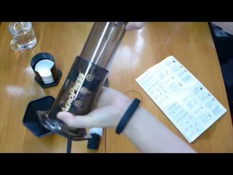 Aeropress Coffee Maker Demo : Avidcoffeehk :: VideoLike