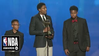 Bradley Beal Wins the Community Assist Award | 2019 NBA Awards